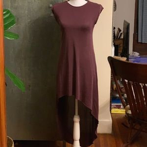 Urban Outfitters Silence + Noise Plum Dress